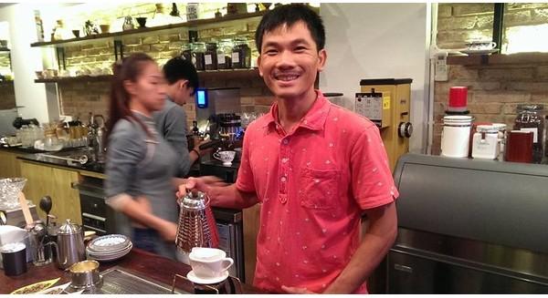 Khởi nghiệp từ cà phê