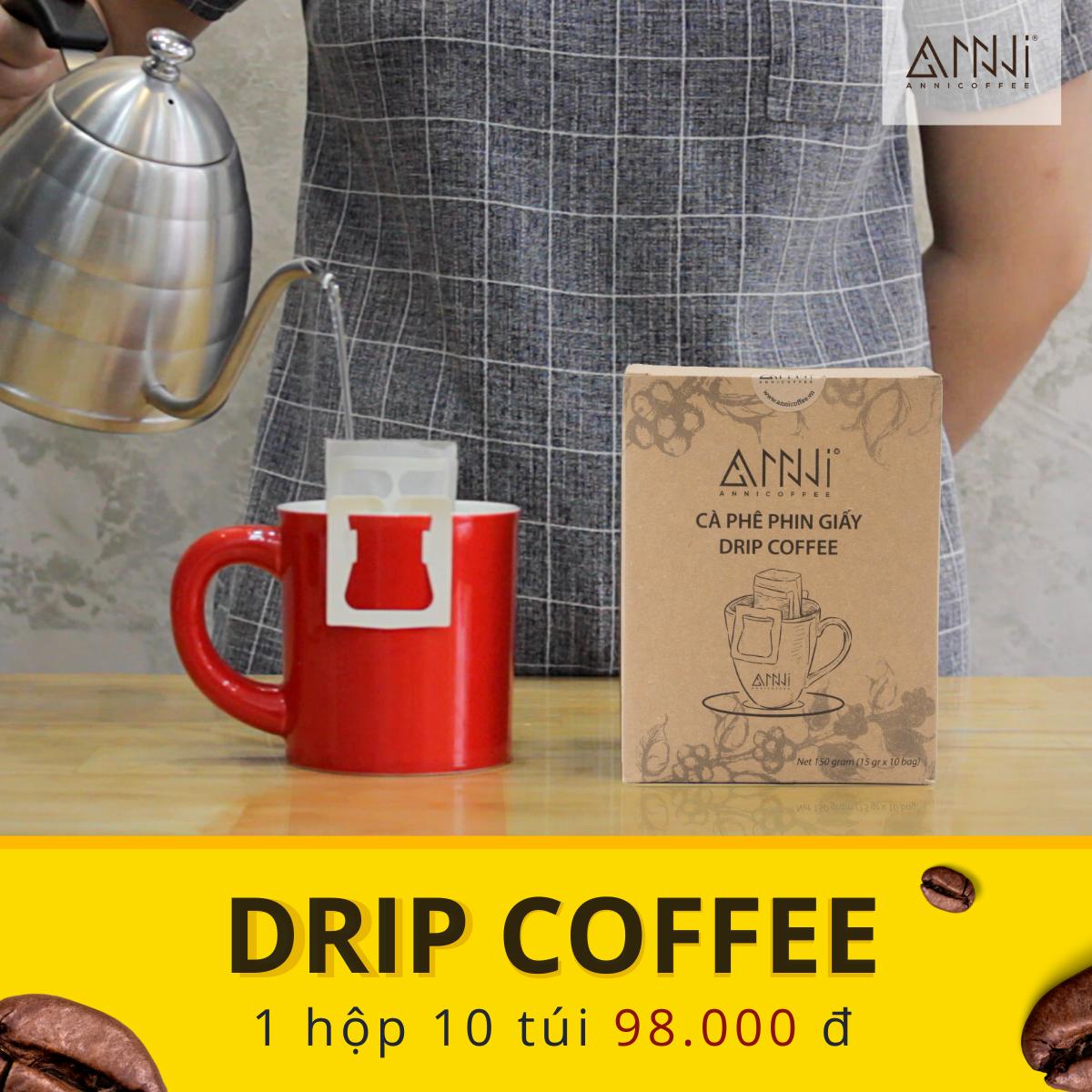 cà phê phin giấy tiện dụng