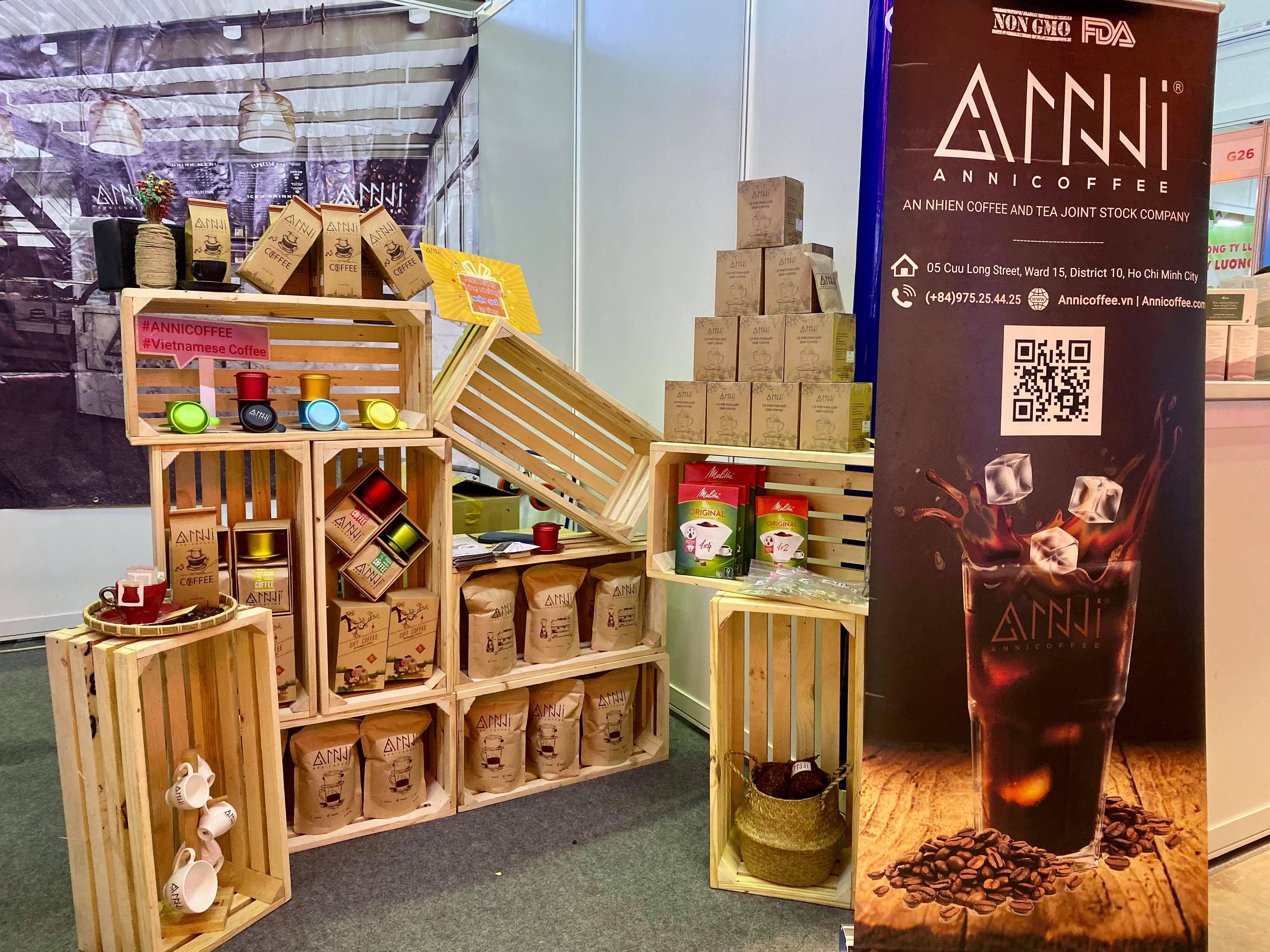 Gian hàng Anni Coffee 2019
