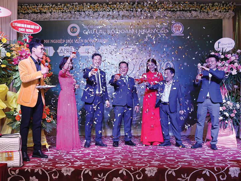 year end party 2021-công ty Anni Coffee và hiệp hội doanh nghiệp C&D