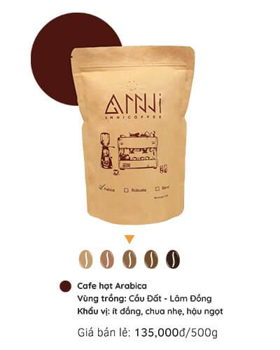 Cà phê hạt Arabica anni coffee