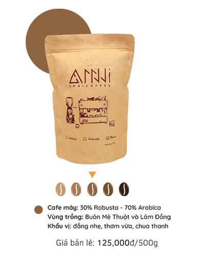 Cà phê máy anni coffee