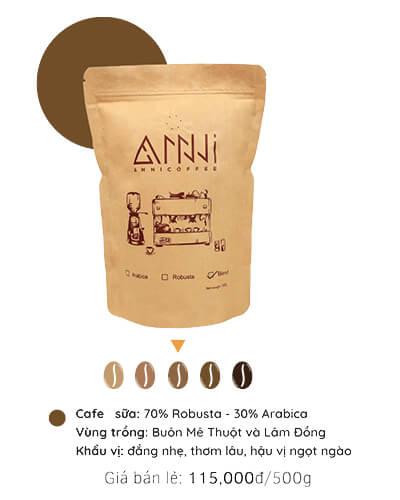 Cà phê sữa anni coffee