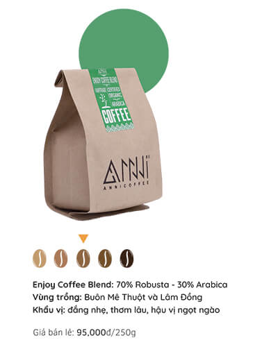 Cà phê discorvery anni blend