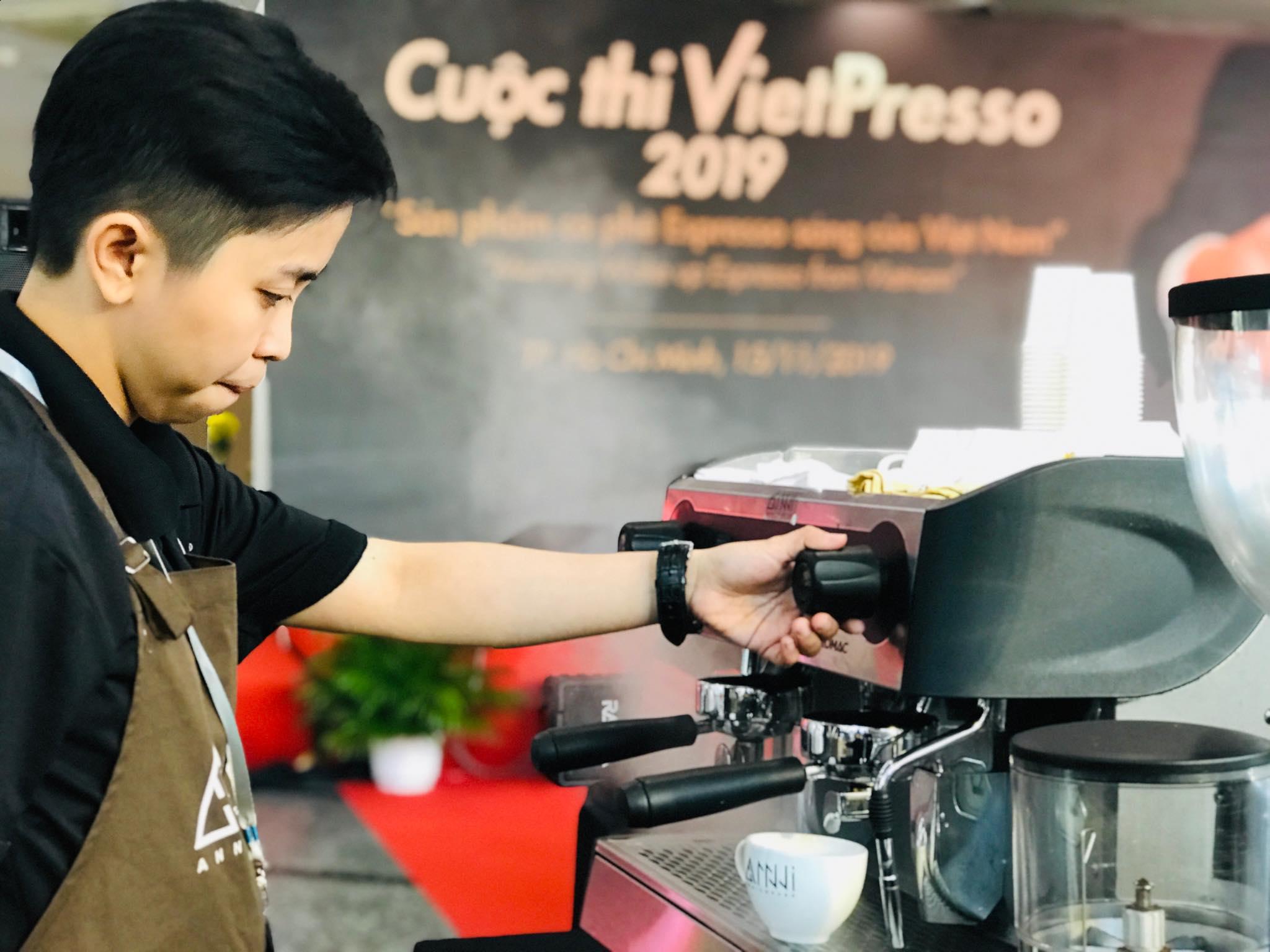 ANNI COFFEE - Cuộc thi Pha chế Espresso Việt